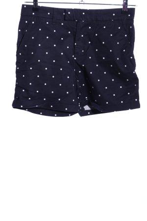 Orsay Short zwart-wit gestippeld patroon casual uitstraling