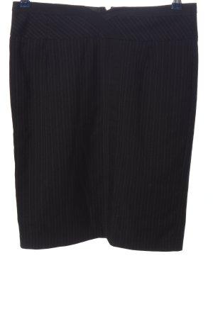 Orsay Bleistiftrock schwarz-hellgrau Streifenmuster Business-Look