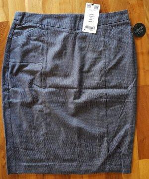 ORSAY Bleistiftrock mit dezentem dunkelblau-weißen Muster, Größe 38, NEU MIT ETIKETT - Neupreis 25,99€
