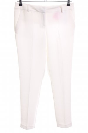 Orsay Pleated Trousers white business style