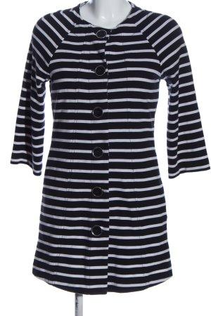 Orsay Cardigan schwarz-weiß Allover-Druck Casual-Look