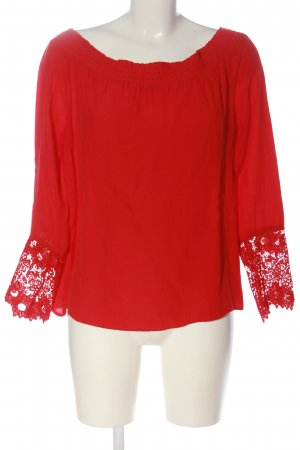 Orsay Carmen-Bluse rot Casual-Look