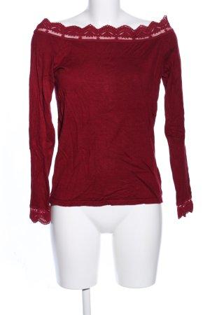 Orsay Carmenshirt rot meliert Casual-Look