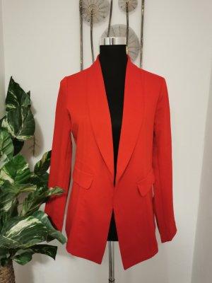 Orsay Damen Jacket Blazer Jacke elegant Abendblazer rot Größe 40 NEU