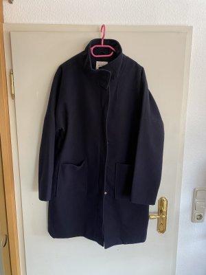 Orsay Cappotto in lana blu-blu scuro Lana