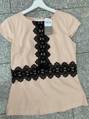 Orsay Top à capuche or rose-noir