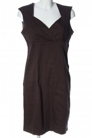 Orsay Empire Dress brown business style