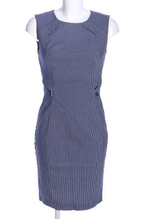 Orsay Etuikleid blau-weiß Allover-Druck Business-Look