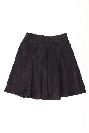 Orsay Faltenrock Größe 38 schwarz aus Baumwolle