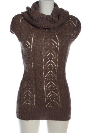 Orsay Fijn gebreide cardigan bruin casual uitstraling