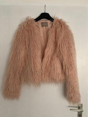 Orsay Chaqueta de piel color rosa dorado-rosa claro
