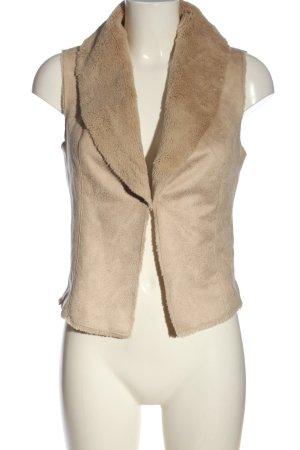 Orsay Fur vest cream casual look