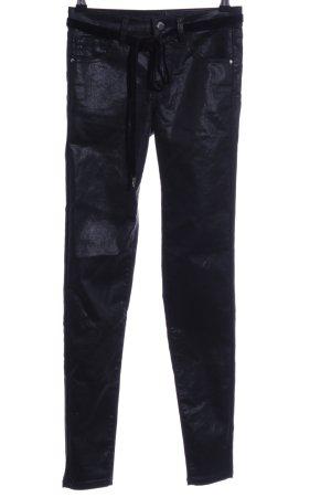 Orsay Pantalon cinq poches noir style décontracté