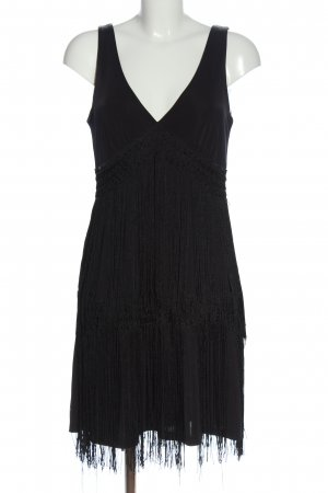 Orsay Fringed Dress black elegant