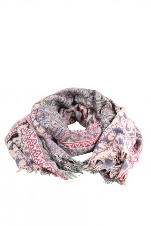 Orsay Fringed Scarf abstract pattern casual look