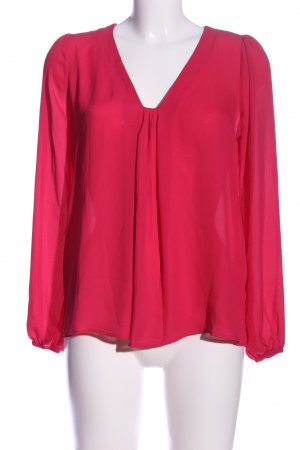 Orsay Hemd-Bluse rot Business-Look