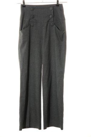 Orsay Hoge taille broek lichtgrijs volledige print zakelijke stijl