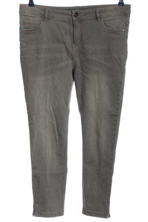 Orsay Vaquero de talle alto gris claro look casual