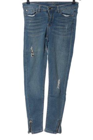 Orsay High Waist Jeans blau Casual-Look