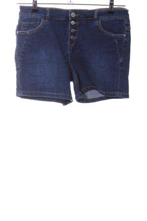 Orsay High-Waist-Shorts blau Casual-Look