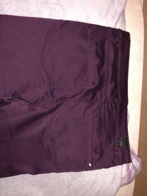 Orsay Spodnie z pięcioma kieszeniami bordo