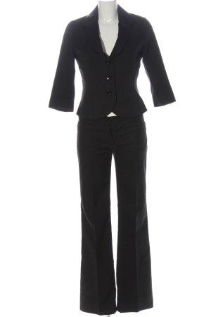 Orsay Garnitur damski czarny W stylu biznesowym