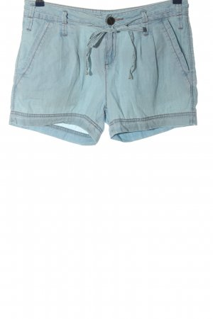 Orsay Hot Pants blue casual look