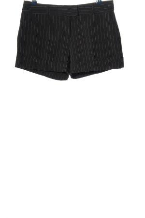 Orsay Krótkie szorty czarny-biały Na całej powierzchni W stylu casual