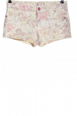 Orsay Hot Pants wollweiß-pink Allover-Druck Casual-Look