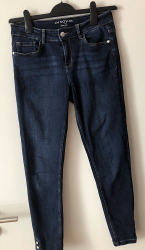 Orsay Pantalon cinq poches bleu foncé