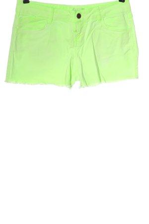 Orsay Spijkershort groen casual uitstraling