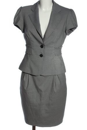 Orsay Ensemble en jersey gris clair imprimé allover élégant