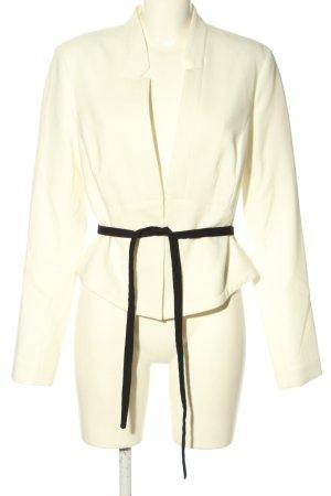 Orsay Jerseyblazer weiß-schwarz Business-Look