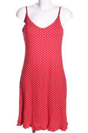 Orsay Jersey Dress red-white spot pattern casual look