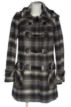 Orsay Abrigo con capucha gris claro-negro look casual