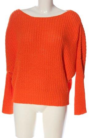 Orsay Pull kimono orange clair style décontracté
