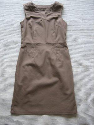 orsay kleid etuikleid neuwertig gr.  36 s hellbraun