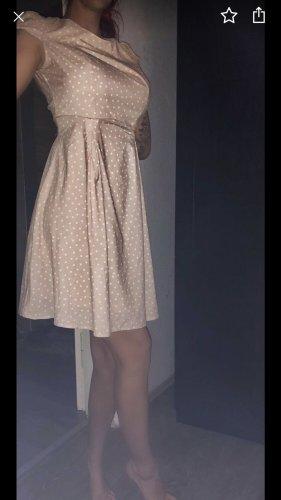 Orsay Jurk met korte mouwen beige-wit