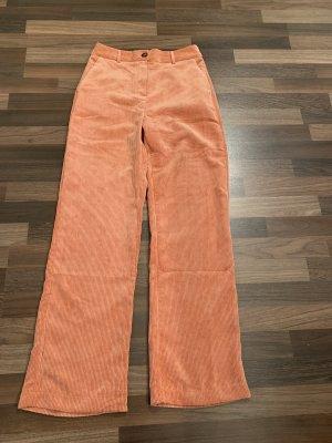 Orsay Pantalon en velours côtelé multicolore