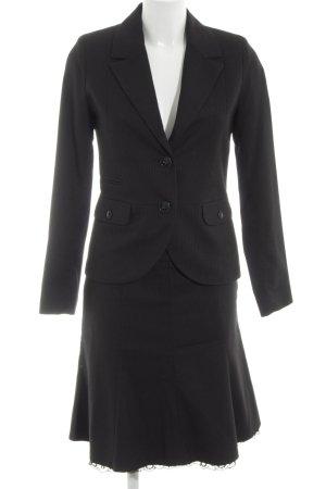 Orsay Kostüm schwarz Streifenmuster Business-Look