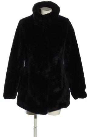 Orsay Giacca in eco pelliccia nero stile casual