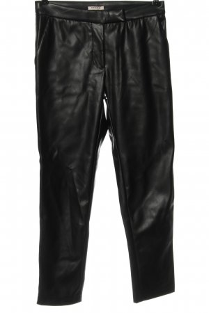 Orsay Kunstlederhose schwarz Casual-Look