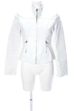 Orsay Chaqueta de cuero de imitación blanco look casual