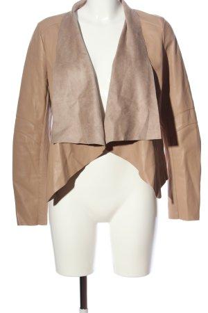 Orsay Kurtka z imitacji skóry brązowy W stylu casual
