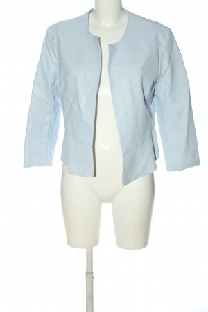 Orsay Kunstlederjacke blau Casual-Look