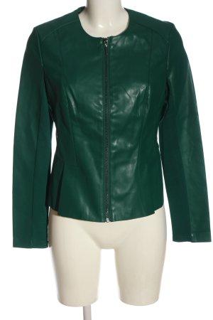 Orsay Kunstlederjacke grün Casual-Look