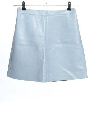 Orsay Kunstlederrock blau Casual-Look