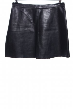 Orsay Gonna in ecopelle nero stile casual