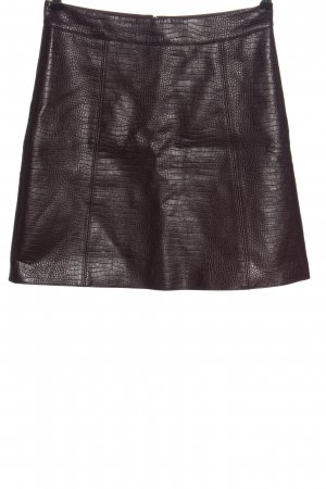 Orsay Faux Leather Skirt red allover print casual look