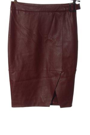 Orsay Kunstlederrock rot Casual-Look